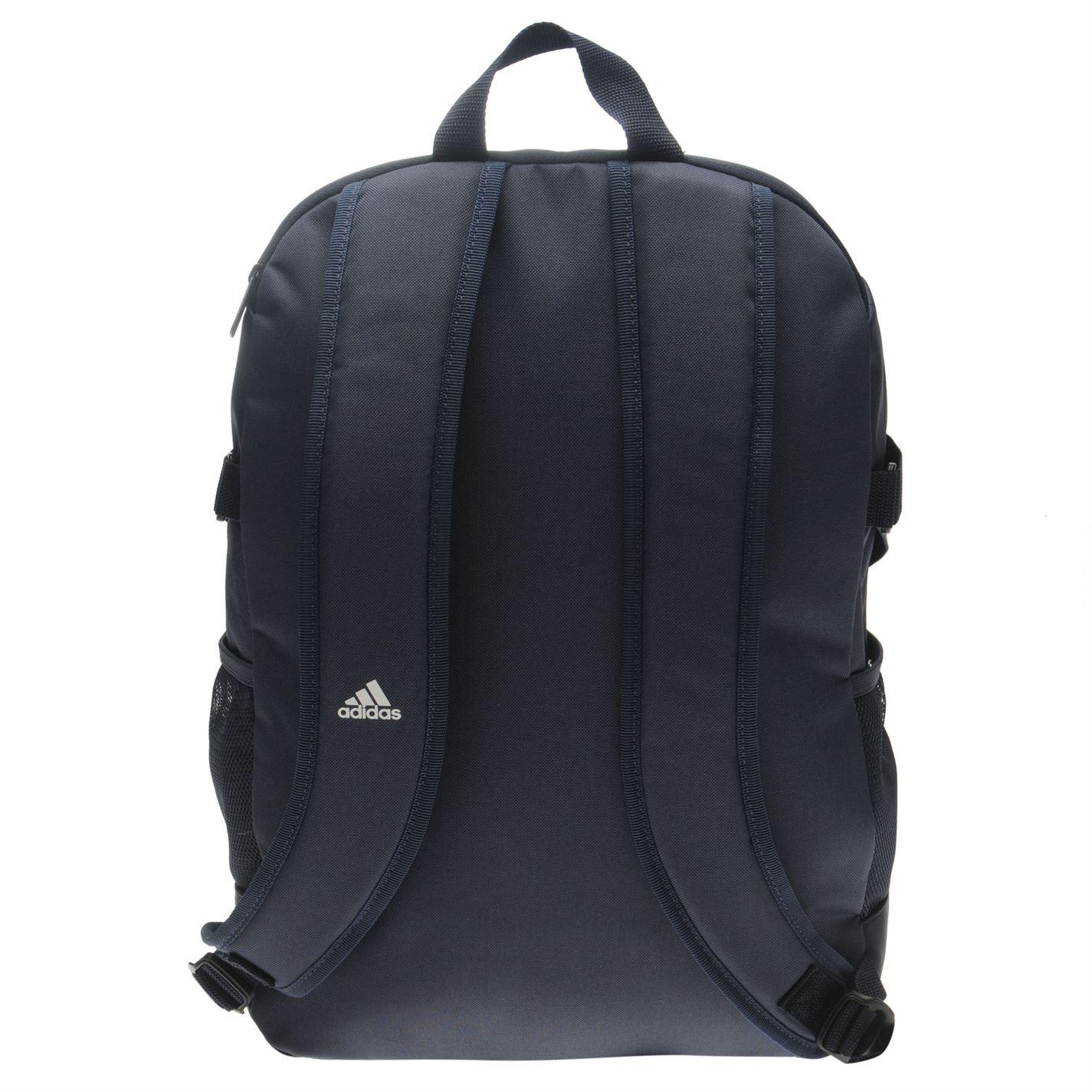 28847cea12 ... Adidas Power 4 mochila azul marino blanco deportes bolsa bolsa mochila