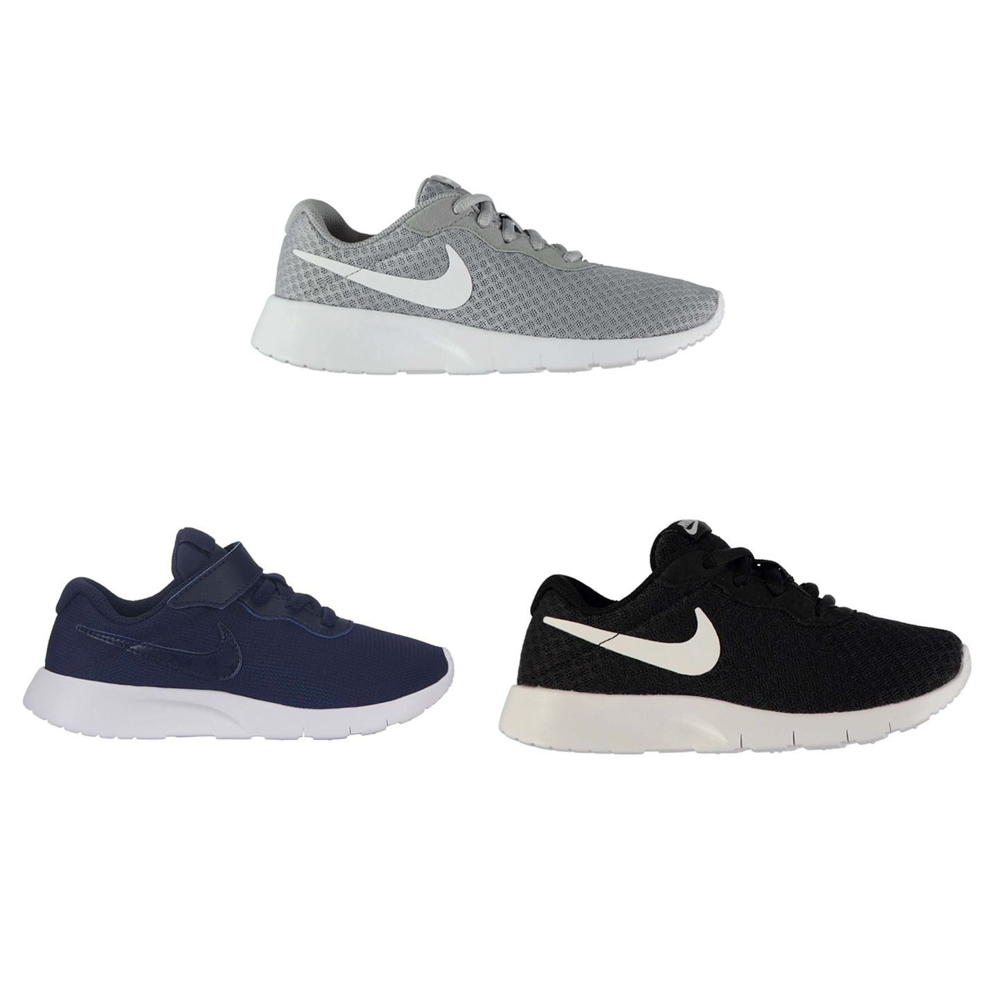 Details about Nike Tanjun Trainers Child Boys Shoes Footwear