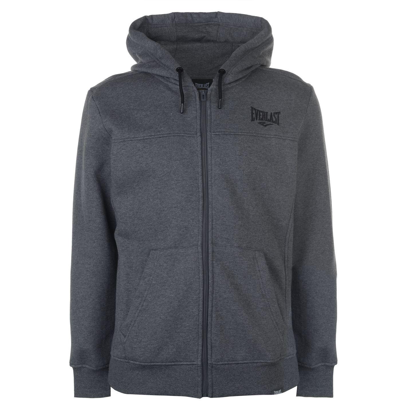 Everlast-Logo-Full-Zip-Hoody-Jacket-Mens-Hoodie-Sweatshirt-Sweater-Hooded-Top thumbnail 19