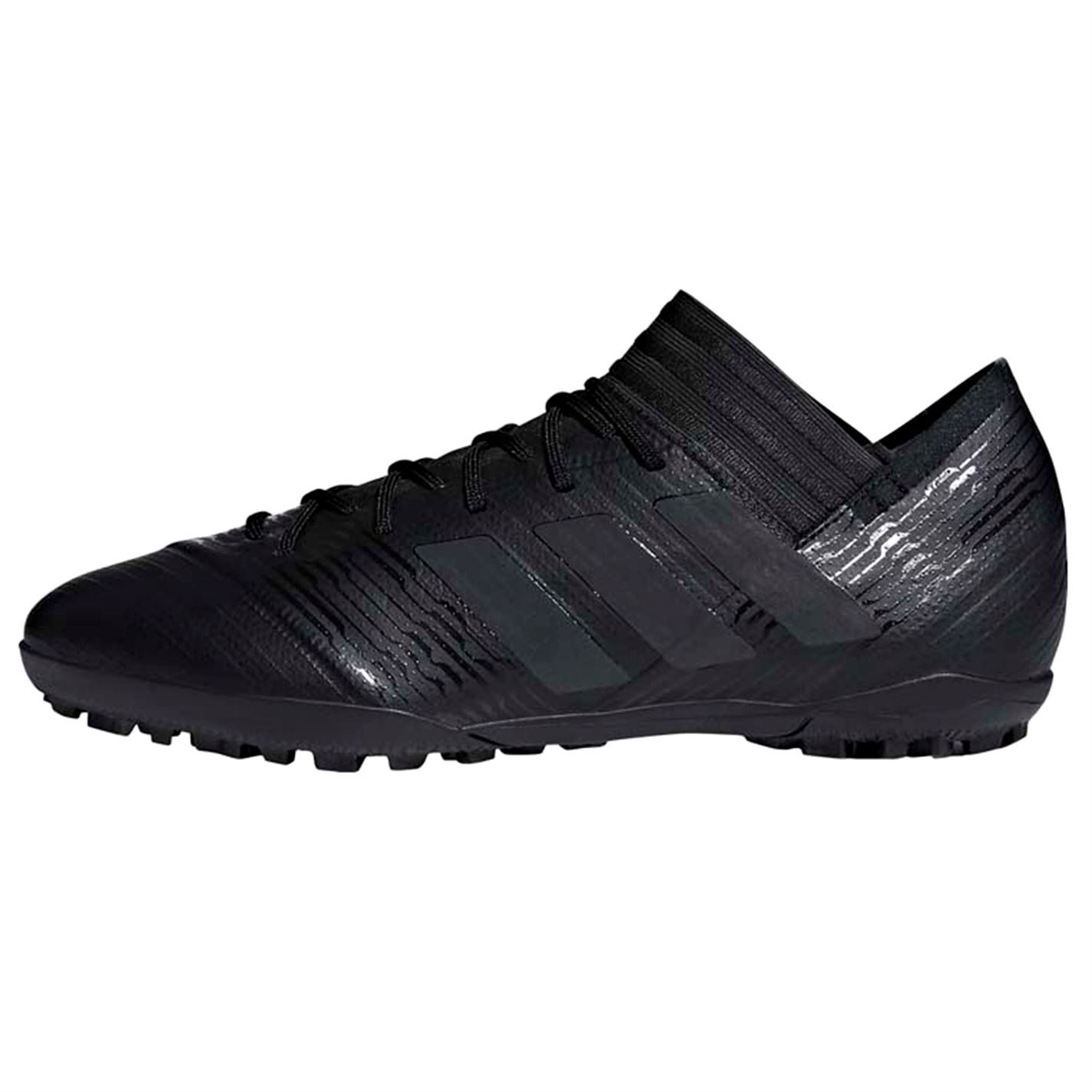 b9bbe4083e45 ... adidas Nemeziz Tango 17.3 Astro Turf Football Trainers Black Mens Soccer  Shoes ...