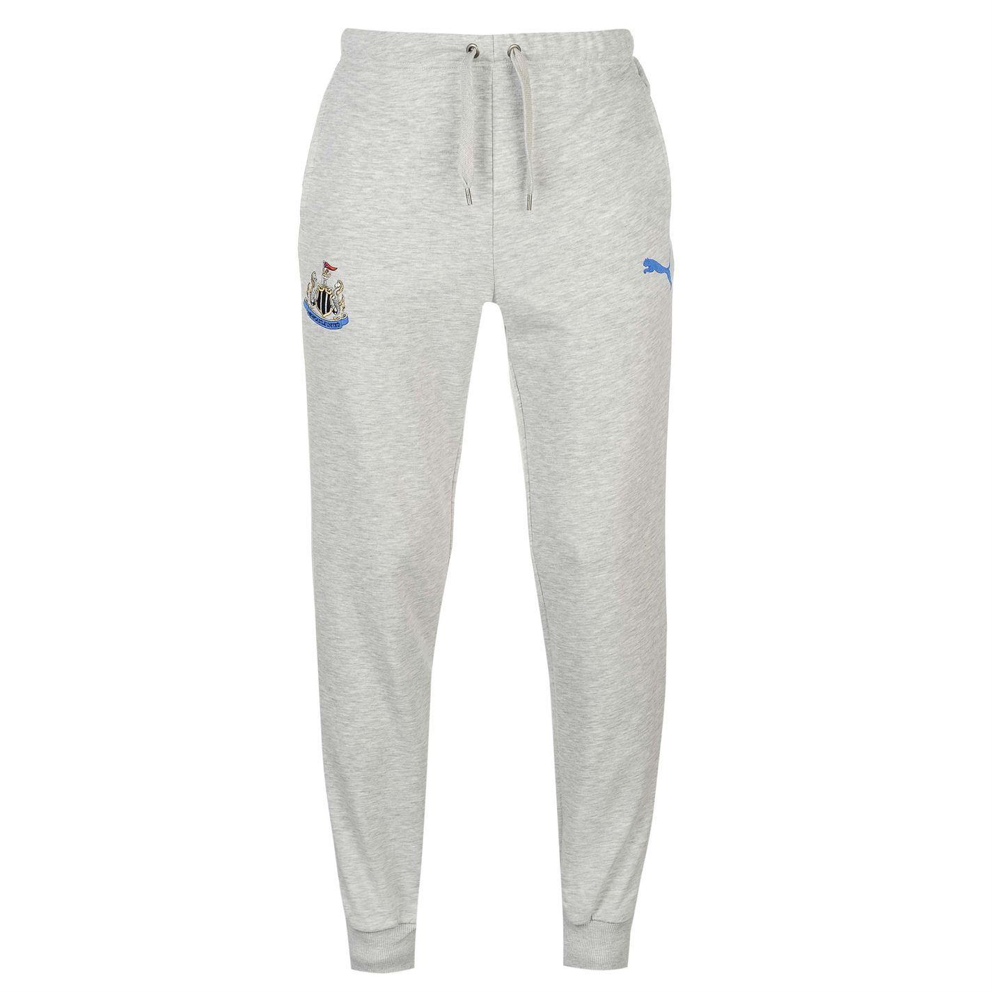 ebfff7960a48 ... Puma Newcastle United Sweat Track Pants Mens Grey Football Soccer Sweat  Bottoms ...