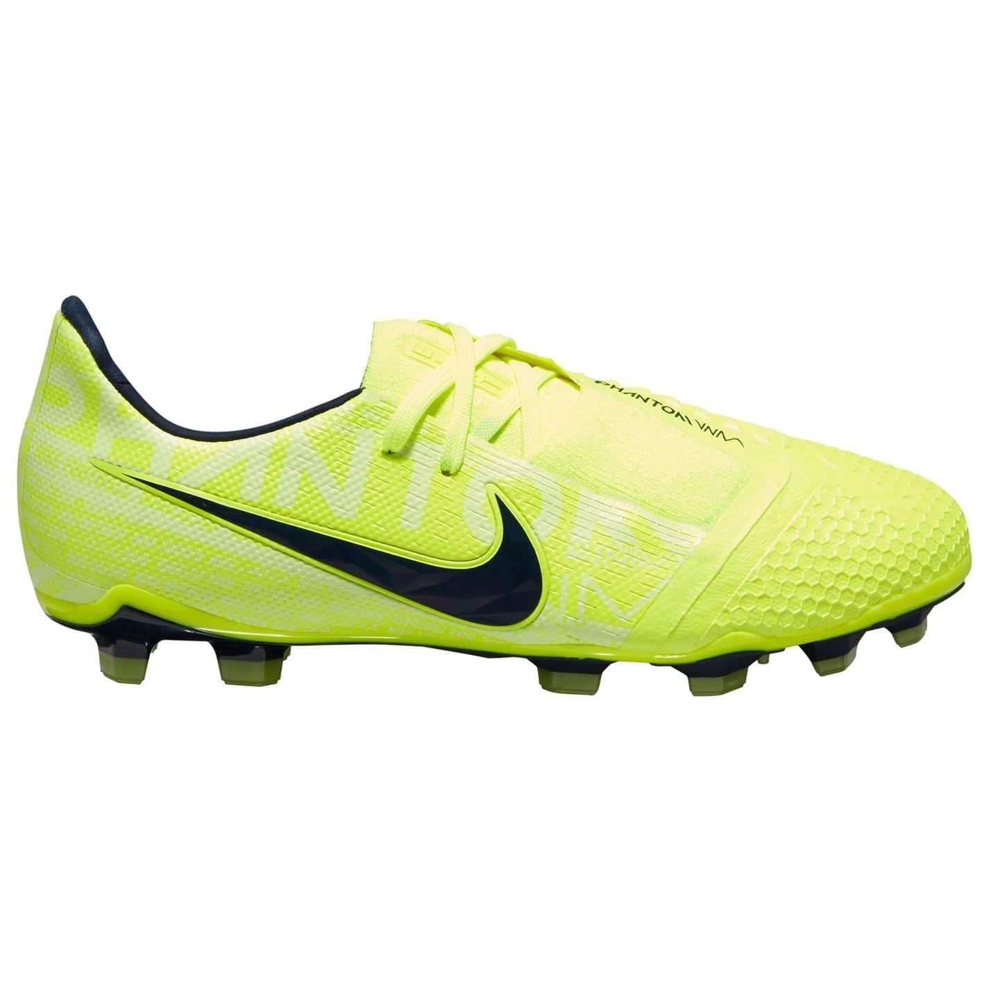 Détails sur Nike Phantom Venin Elite Fg Football Bottes Enfant JauneObsidienne Chaussures