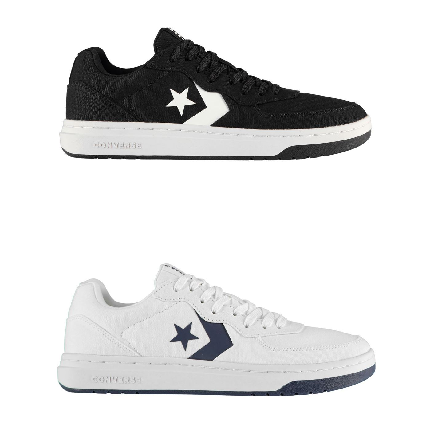 Converse Ox Rival Canvas Trainers Mens