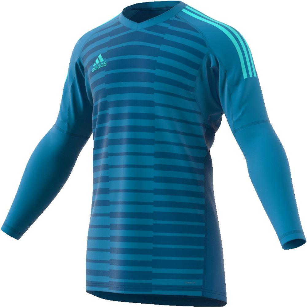 miniature 3 - ADIDAS adiPro 18 gardien shirt juniors Football Soccer Gk Jersey Top T-Shirt