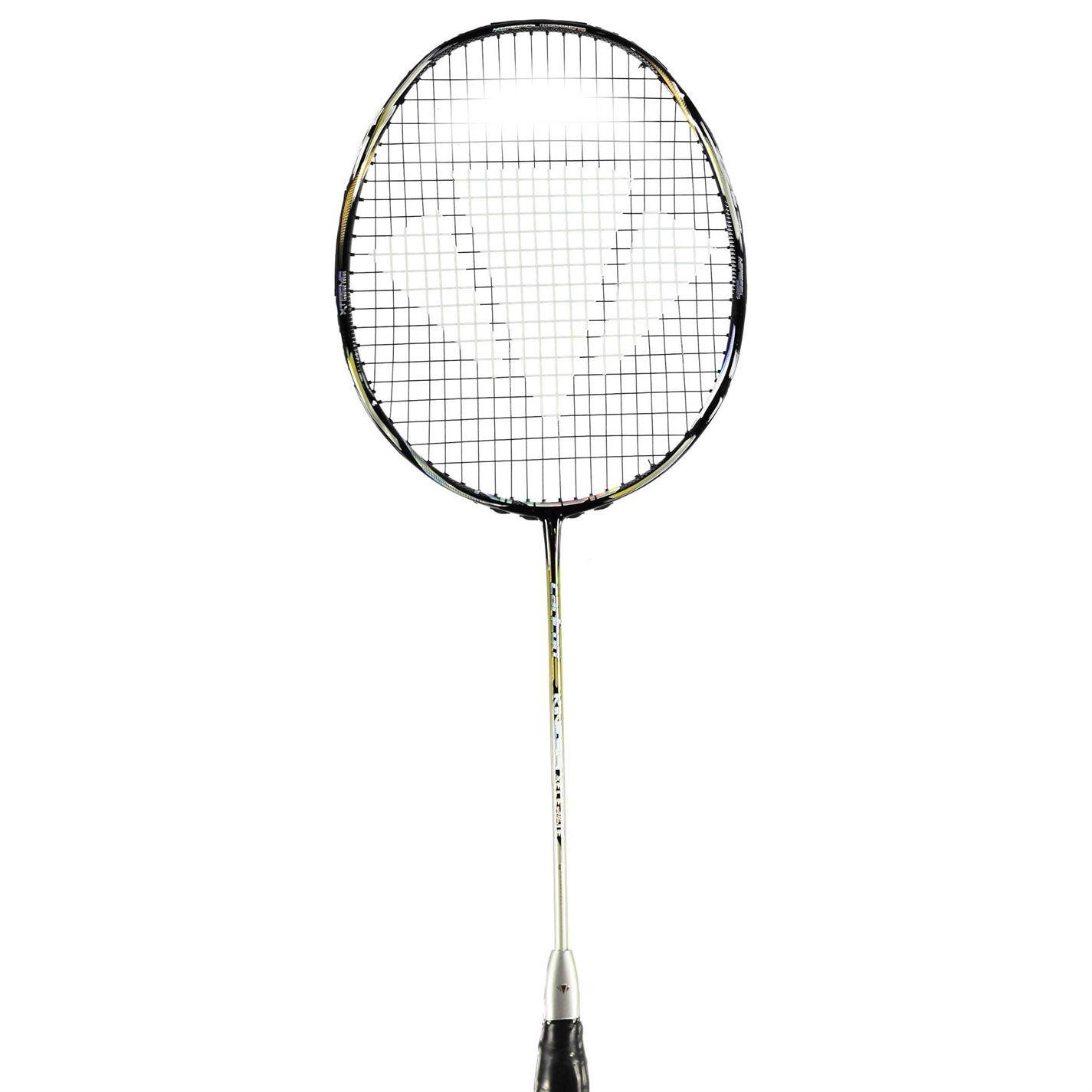 Carlton Kinesis Xelerate Badminton Racket Blacksilver Badminton