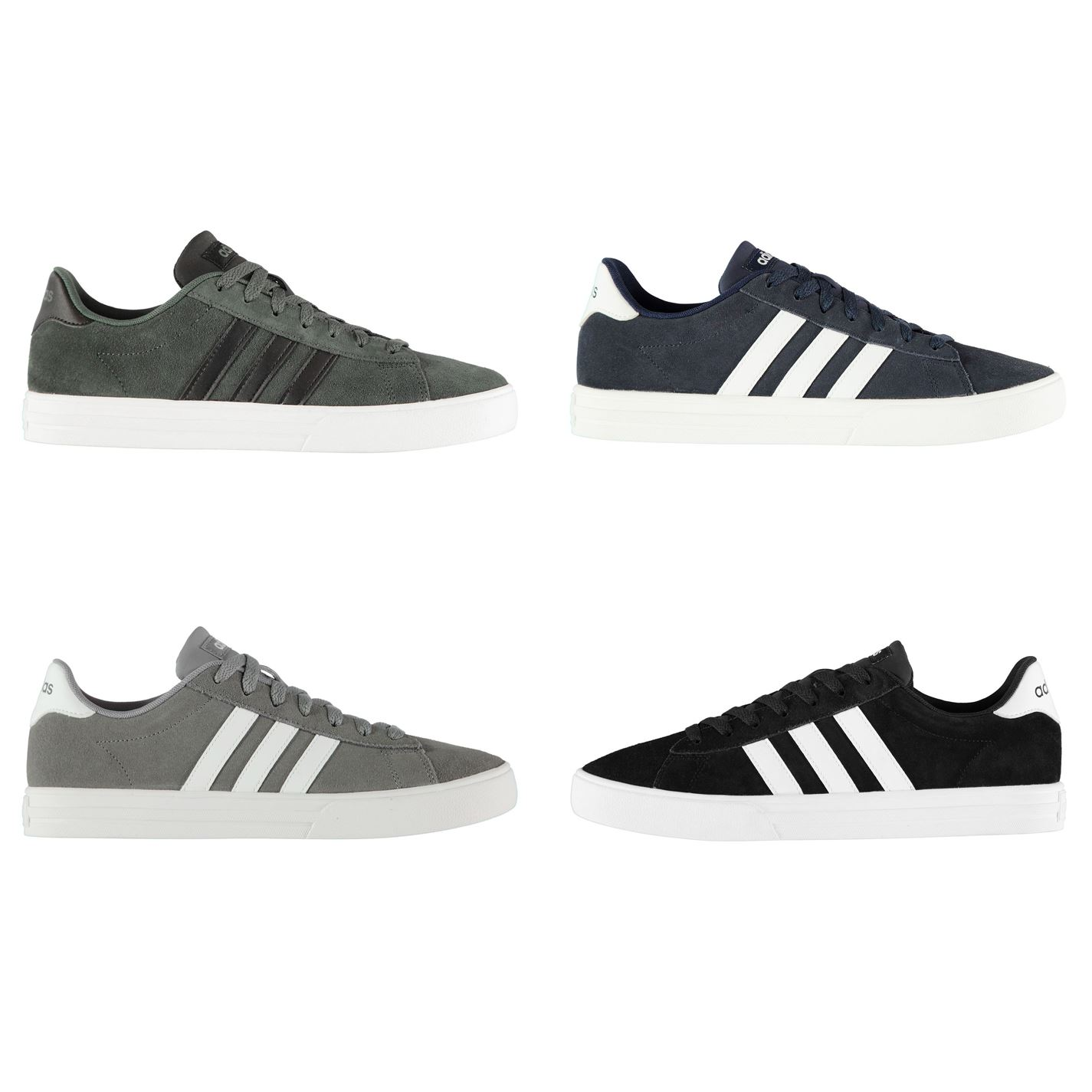 sports shoes 8eb7d 88348 ... adidas Daily Suede Trainers Mens Athleisure Footwear Shoes Sneakers ...