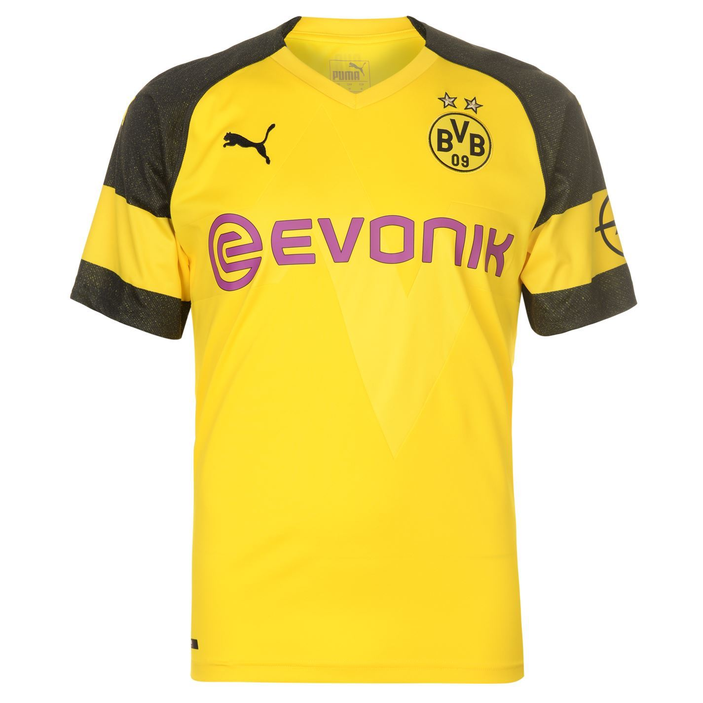 ... Puma Borussia Dortmund Home Jersey 2018-19 Mens Yellow Blk Football  Soccer Shirt ... aaa5c6212