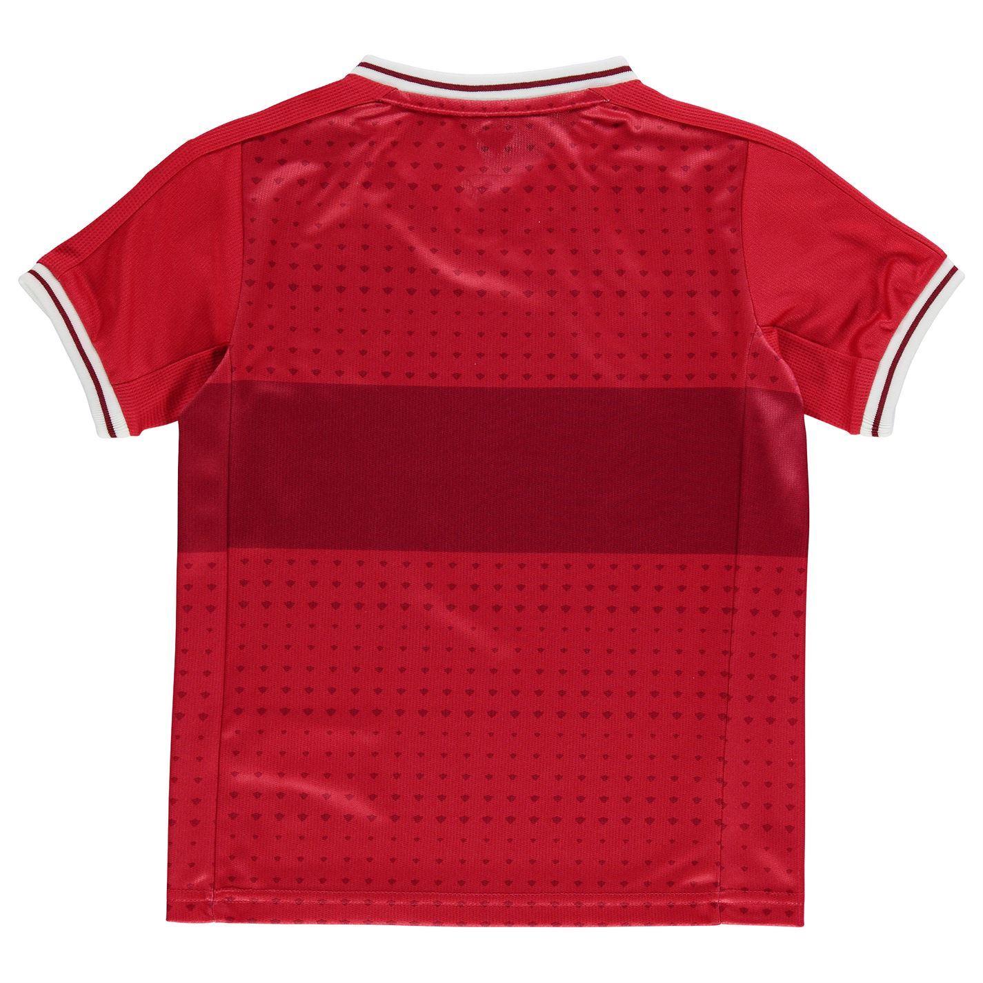 271df049c58 ... Puma VfB Stuttgart Away Jersey 2017 2018 Juniors Red Football Soccer  Shirt Top