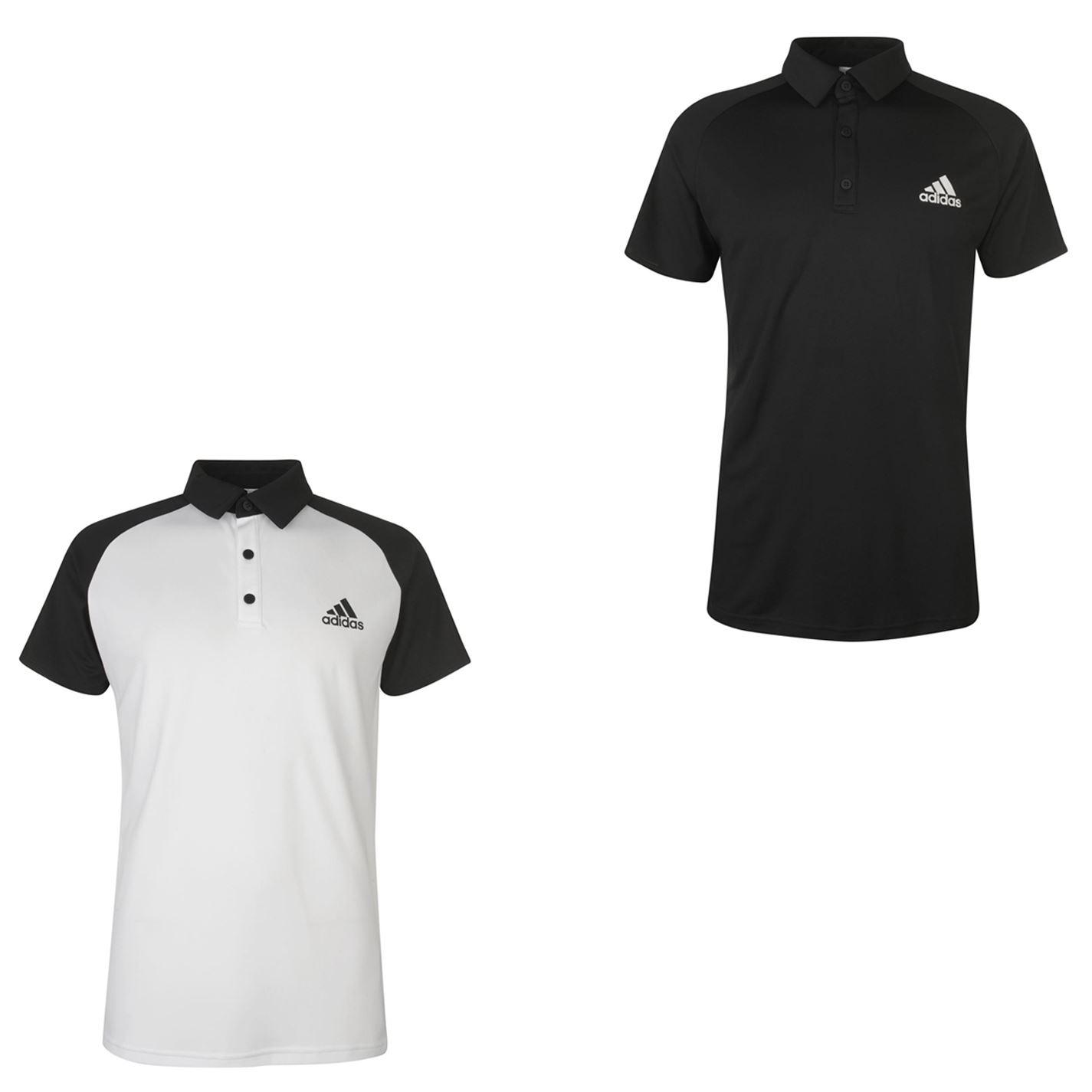 adidas polo shirt white