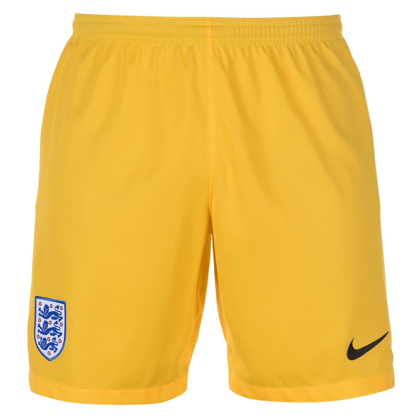 Details about Nike England Goalkeeper Shorts FIFA World Cup 2018 Mens  Yellow Football Soccer 40164fb4a