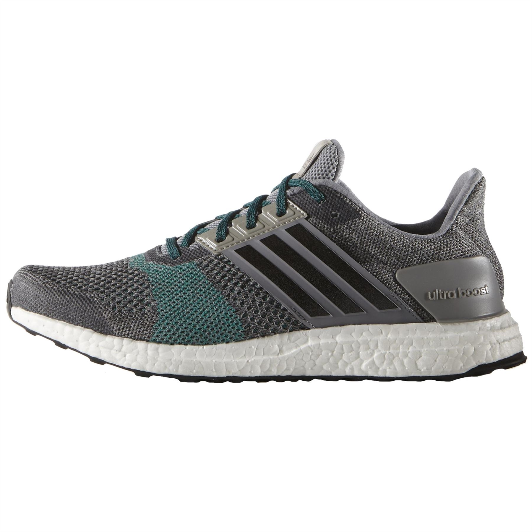 the best attitude cc02d 608dd ... adidas UltraBOOST ST Running Shoes Mens Grey Run Jogging Trainers  Sneakers ...