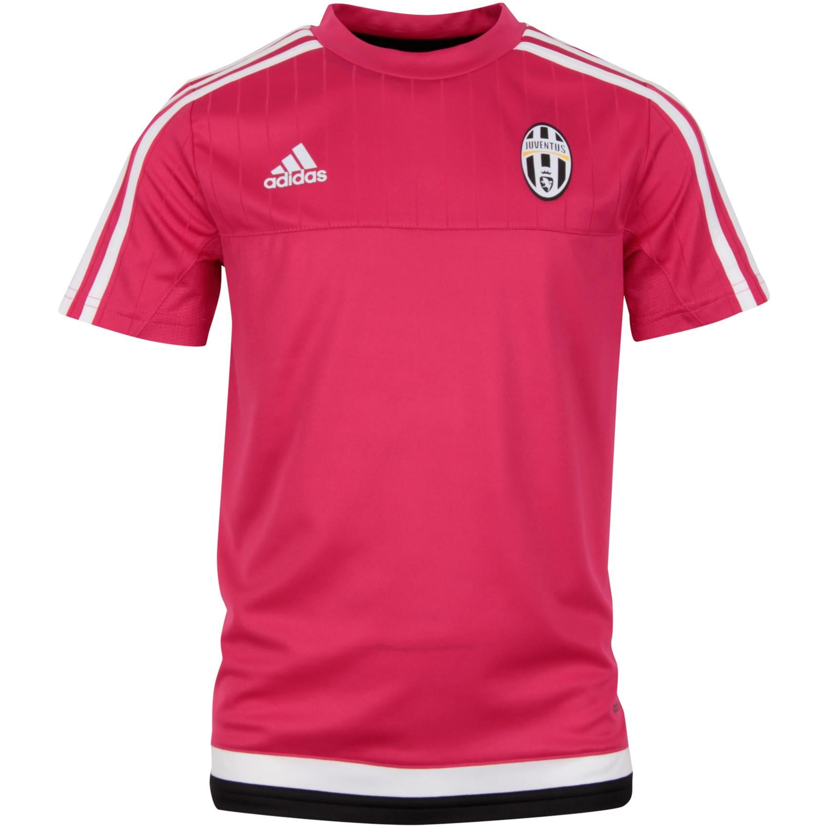 sports shoes e0a85 de970 Details about adidas Juventus Training Jersey Juniors Pink Football Soccer  Shirt Top Juve