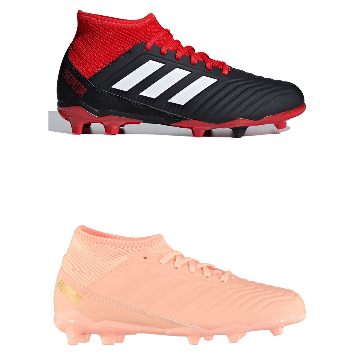 7fb3ed1aa ... adidas Predator 18.3 FG Firm Ground Football Boots Childs Soccer Shoes  Cleats ...