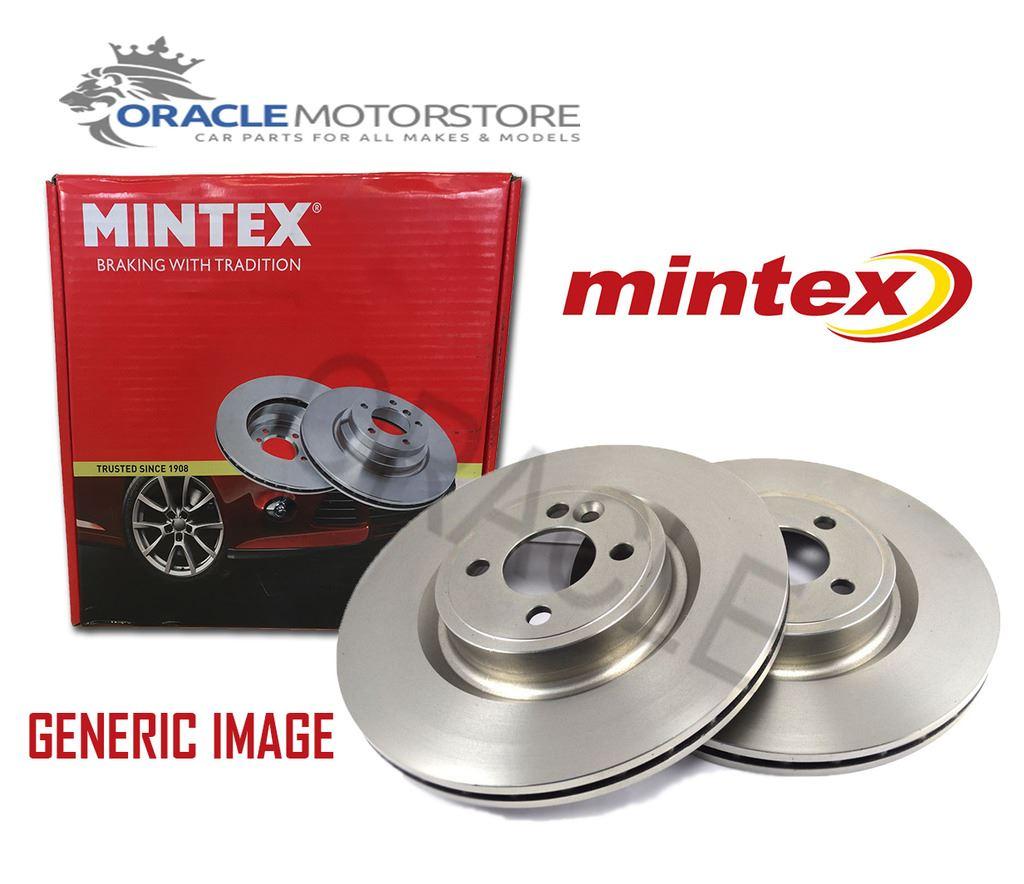 NEW MINTEX FRONT VENTED BRAKE DISCS SET PAIR MDC645