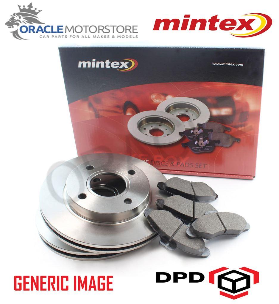 NEW MINTEX FRONT 247MM BRAKE DISCS AND PAD SET KIT GENUINE OE ...
