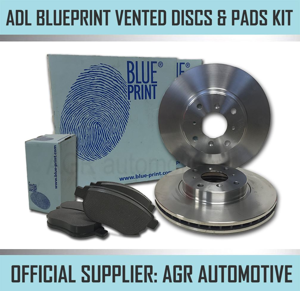2003-09 BREMBO BLUEPRINT REAR DISCS AND PADS 322mm FOR NISSAN 350Z 3.5