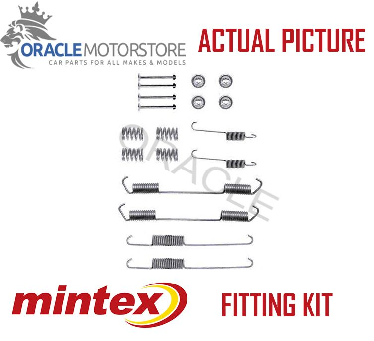 NEW MINTEX REAR BRAKE SHOES SET FITTING KIT PIN SPRINGS ...