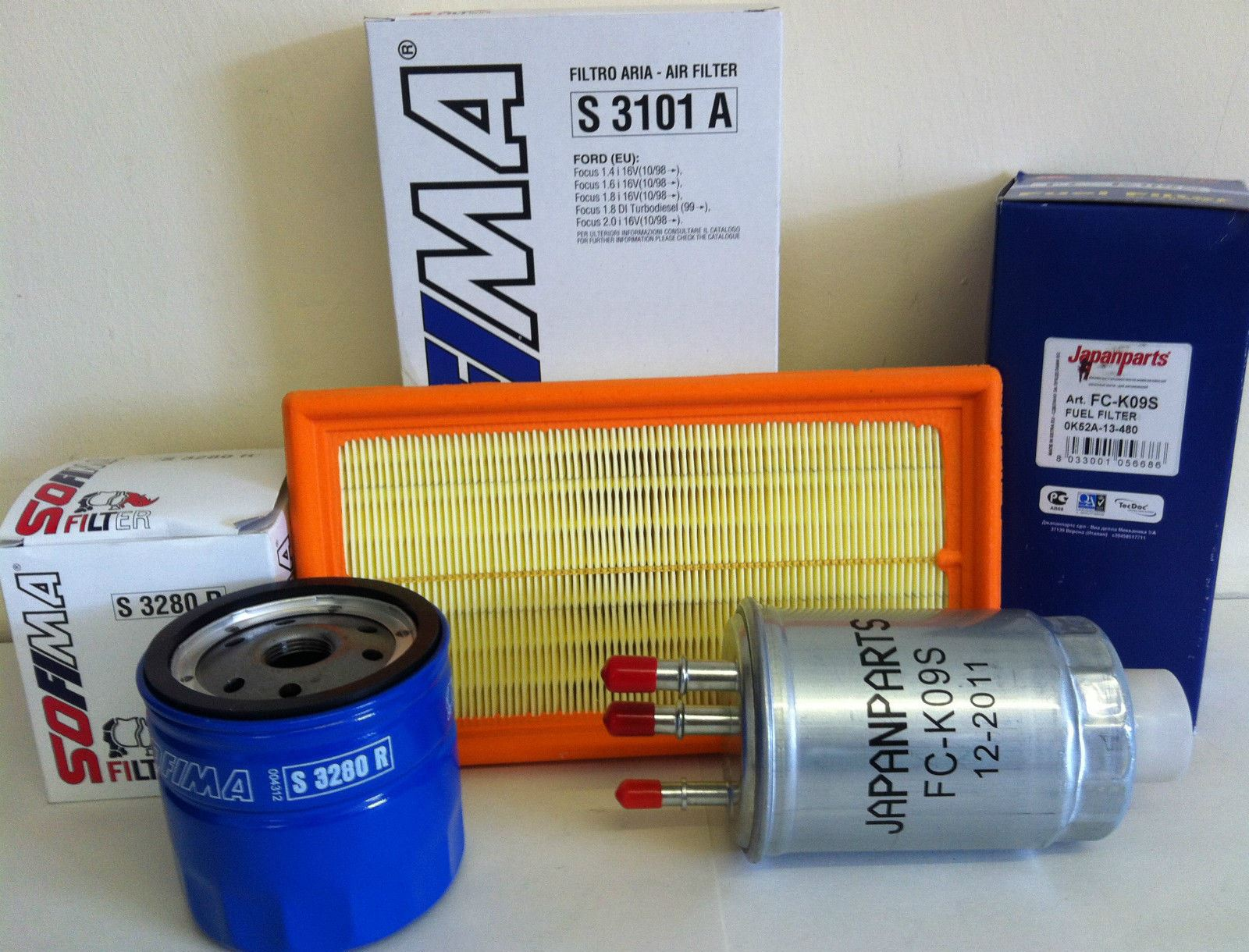 For Ford Focus Mk1 18 Tdci Models Only Diesel Service Kit Oil Air S 10 Fuel Filter A