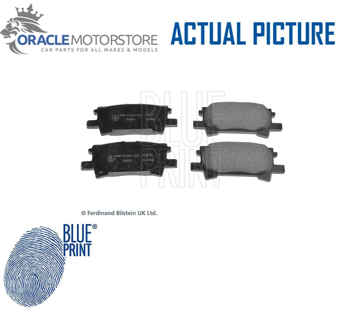 Genuine Blue Print Rear Brake Pads ADT342154