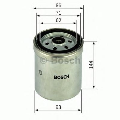 Bosch Fuel Filter OE Quality 1457434516