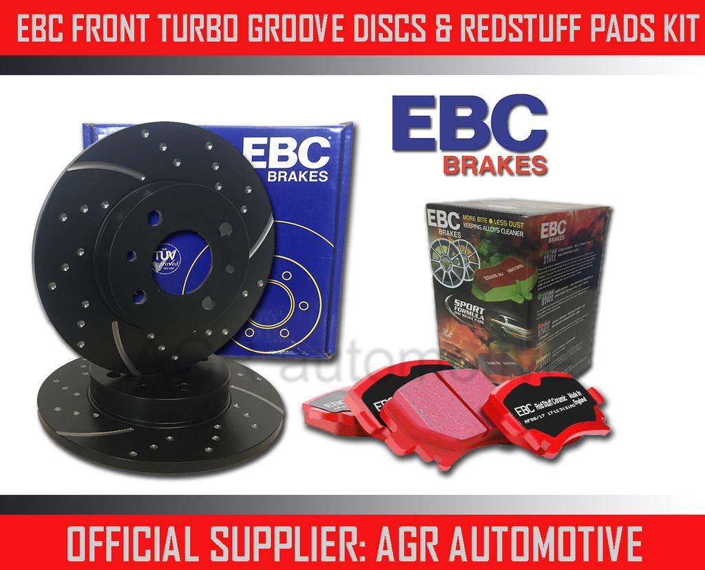 REAR DISCS AND PADS FOR MG TF 1.6 115 BHP 2002-05 OEM SPEC FRONT