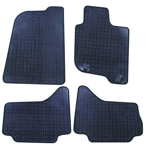 Mitsubishi L200 Double Cab Rubber Tailored Car Mats 2006-