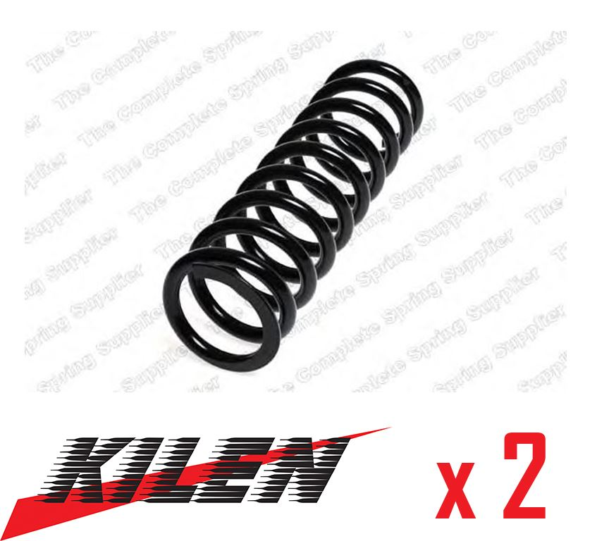 2x Kilen Front Coil Springs Genuine OE Quality Suspension Replacement