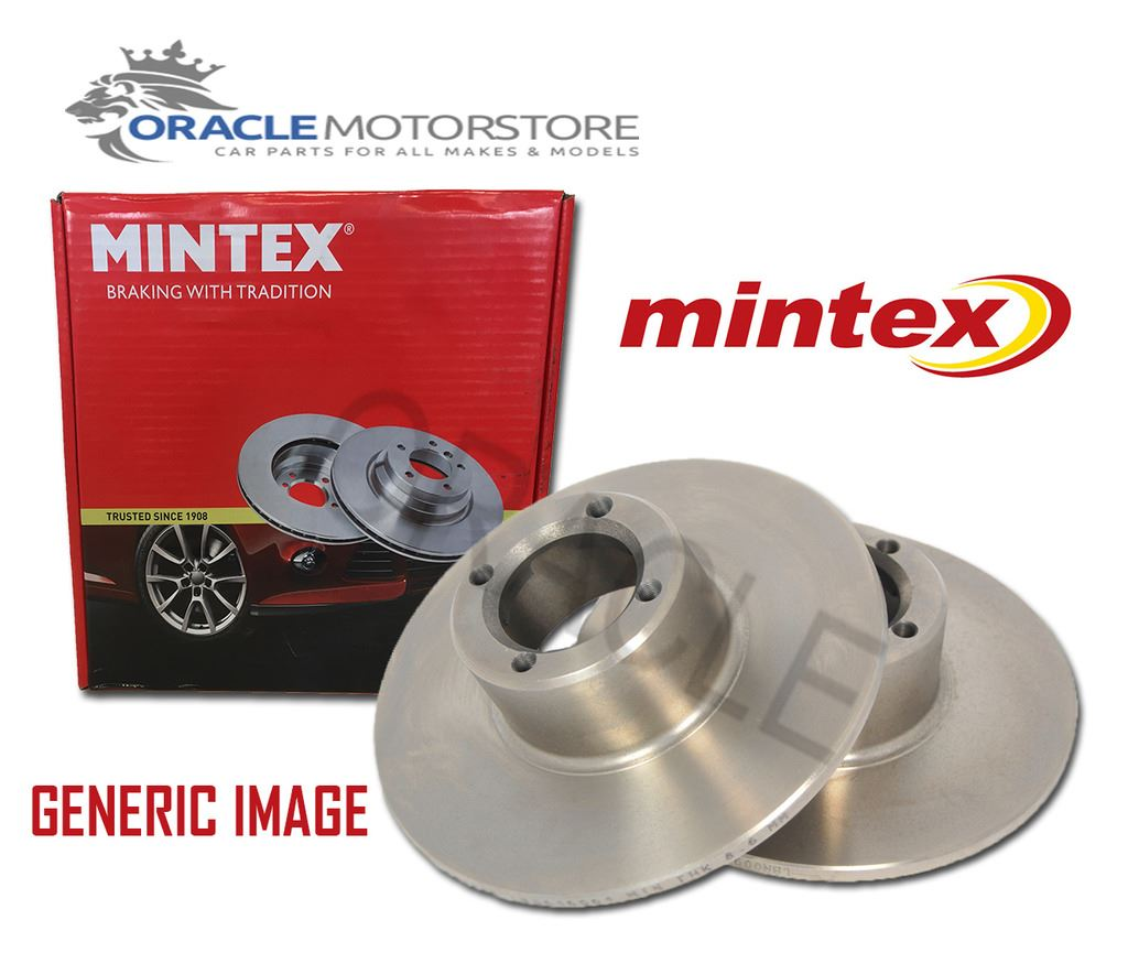 MDC1045 MINTEX Brake Disc rear PAIR