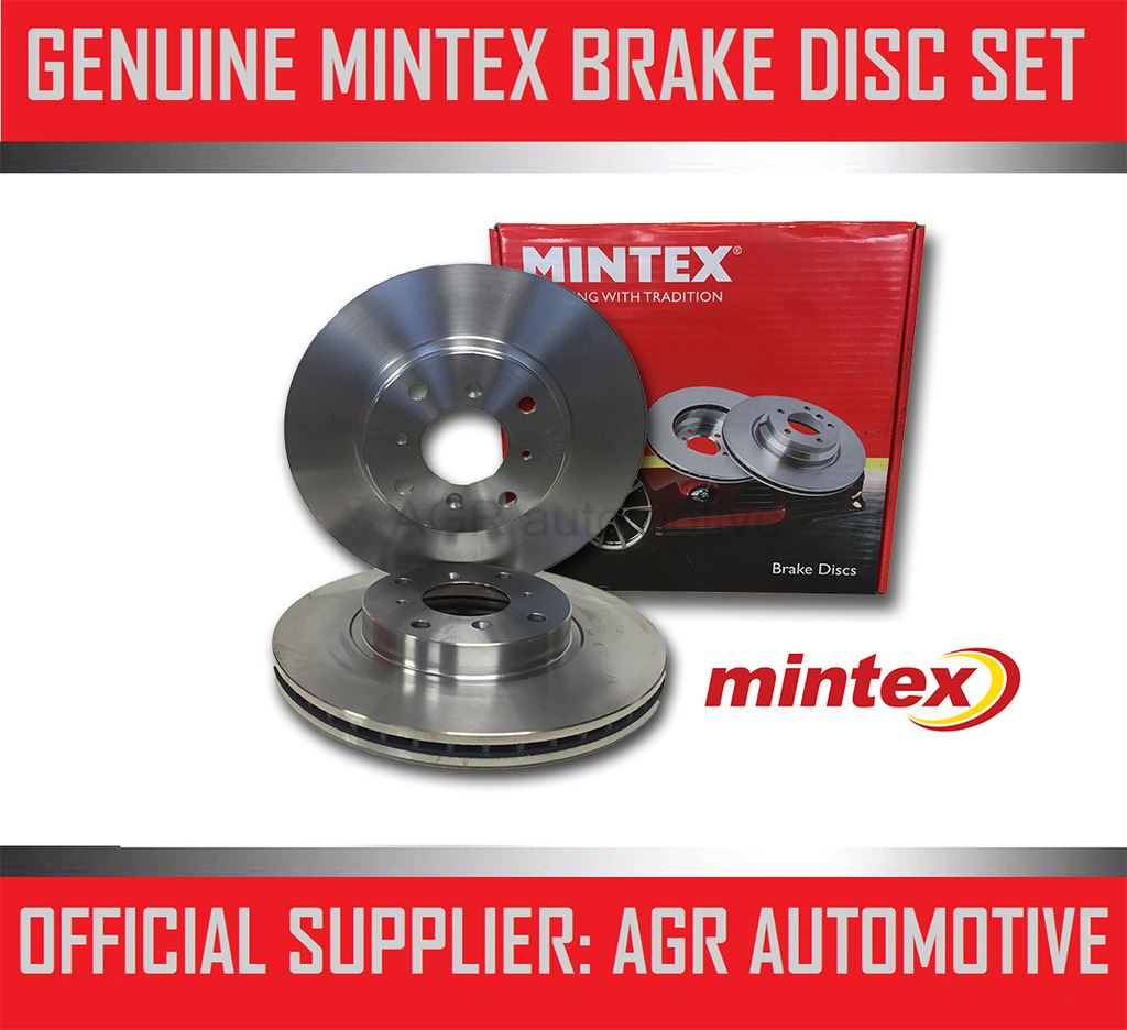 MINTEX FRONT BRAKE DISCS MDC1701 FOR HONDA ACCORD 2.2 TD SALOON 2003-08