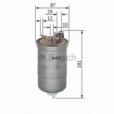 Fuel Filter 0450906453 Bosch 057127401D 8Z0127435 057127401C N6453 Quality New
