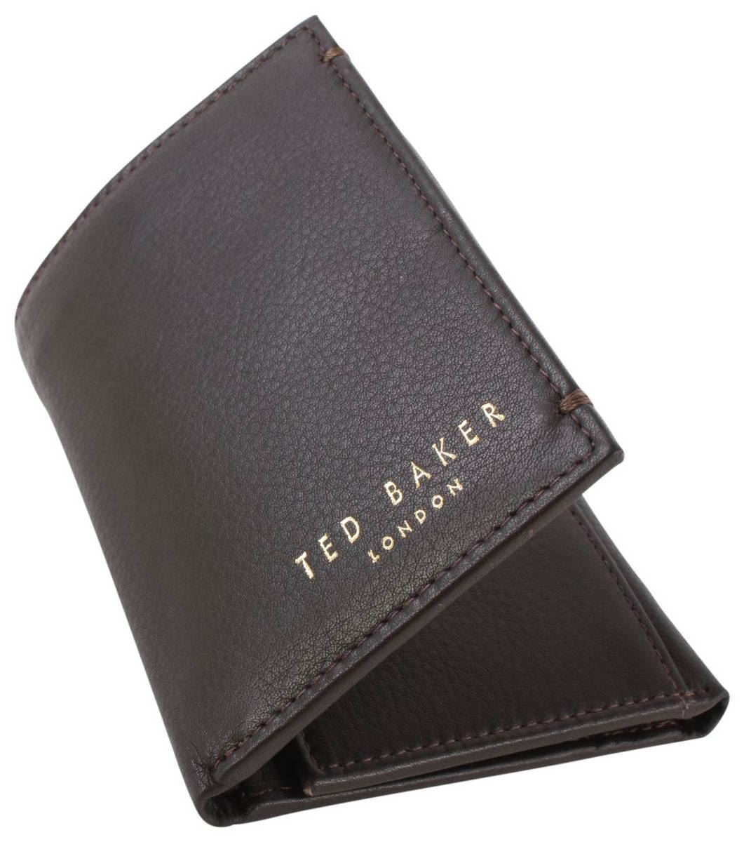 8878705b5149b9 Ted baker mens jonnys mini card wallet chocolate ebay jpg 1061x1200 Ted  baker mens wallets