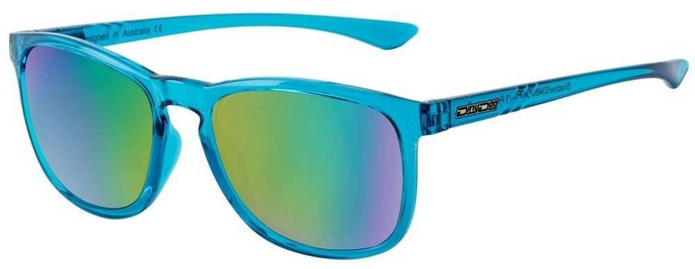 Dirty Dog Mens Shadow Sunglasses Crystal Blue//Green