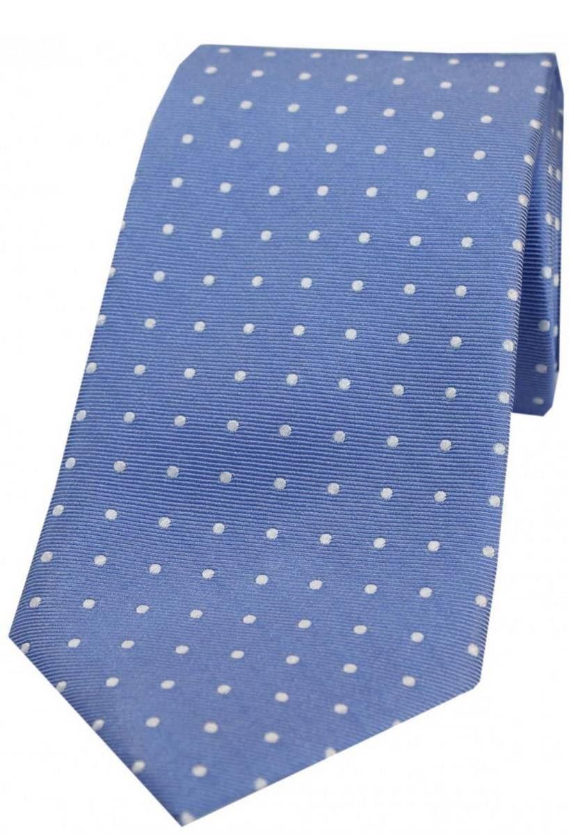 David Van Hagen Mens Plain Satin Silk Bow Tie Lilac