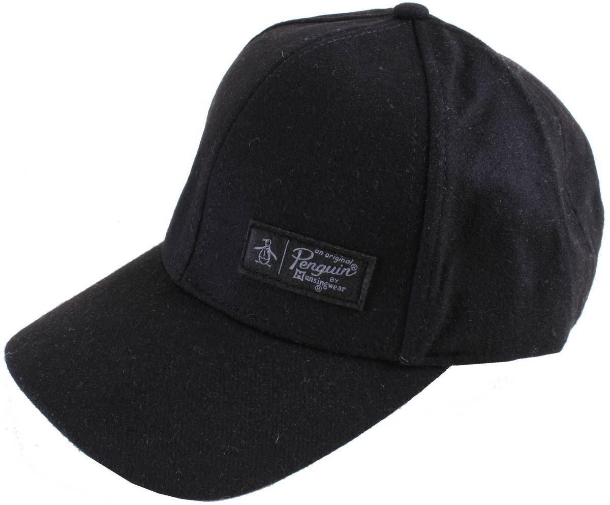 Original Penguin Mens Melton Wool Cap - Black 2160318122790  4c4fa0aeaee7