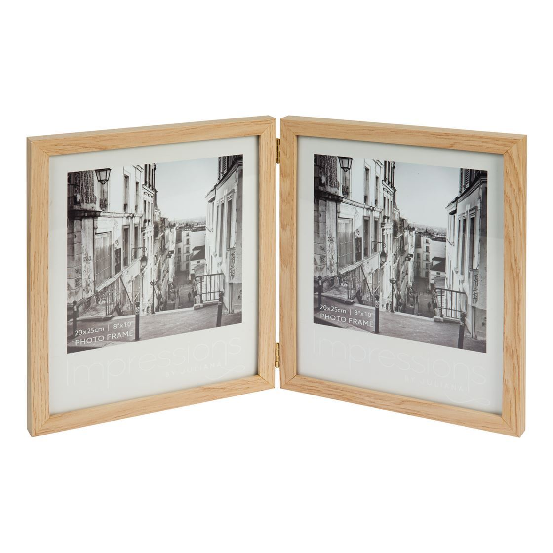 Impressions Double Aperture Wood Photo Frame 8 X 10