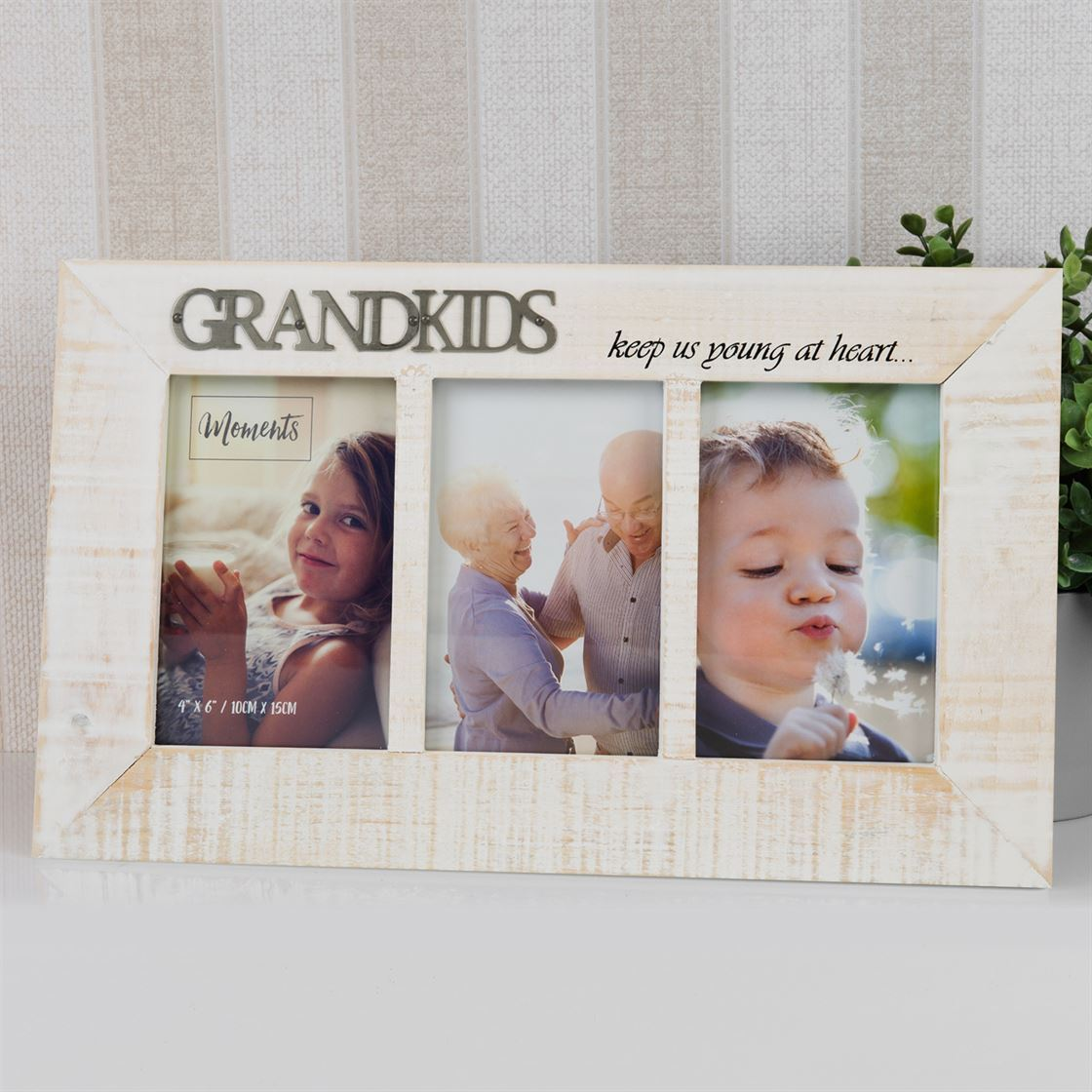 Moments Triple Photo Frame - Grandkids 4\' x 6\' 5017224744554   eBay