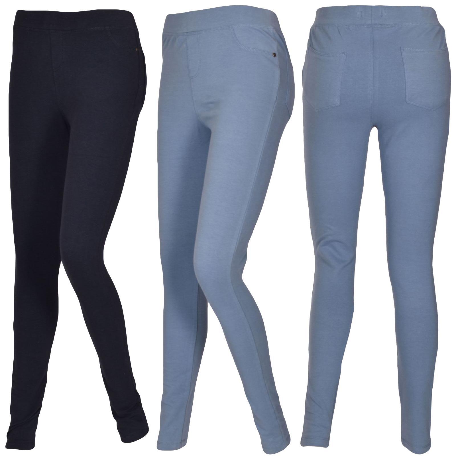 LADIES FULL LENGTH MULTI PRINT LEGGINGS CASUAL WOMEN/'S LEGGINGS PANTS SIZE 8-18