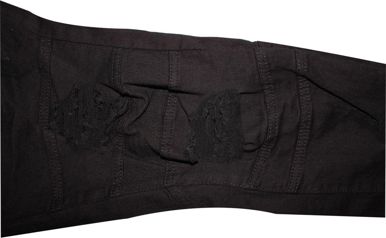 Para-Hombre-Biker-Skinny-Jeans-lealtad-amp-Faith-Slim-Fit-Pantalones-Ajustados-Pantalones-rasgada miniatura 11