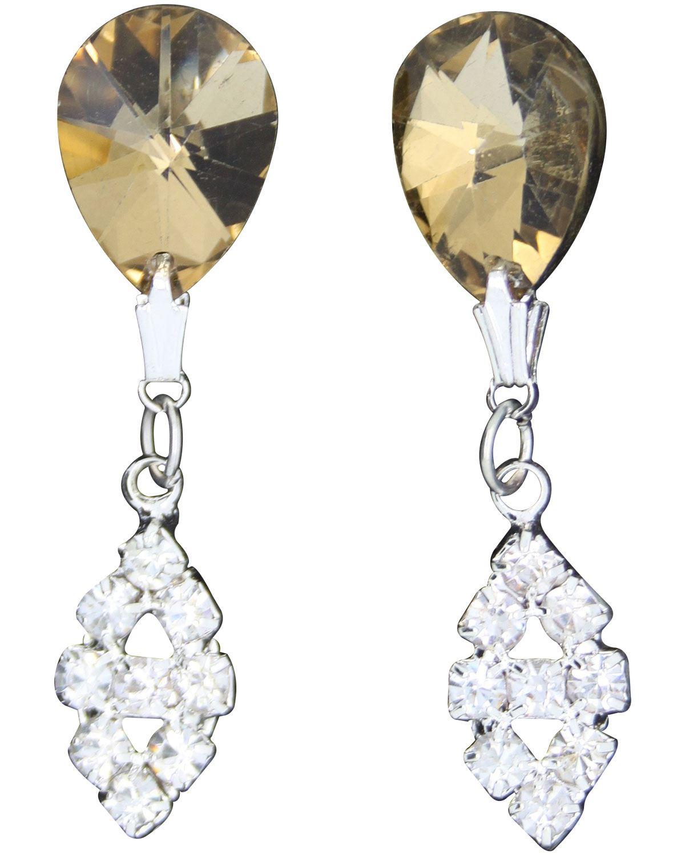 True-Face-Ladies-Women-039-s-Elegant-Earrings-Necklace-Set-Metal-Alloy-Jewellery thumbnail 24