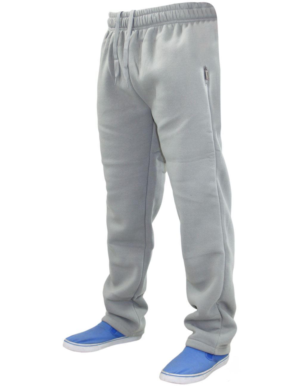 Mens-Women-Plain-Fleece-Joggers-Bottoms-Jogging-Pant-Gym-Fitness-Sports-Trousers thumbnail 32
