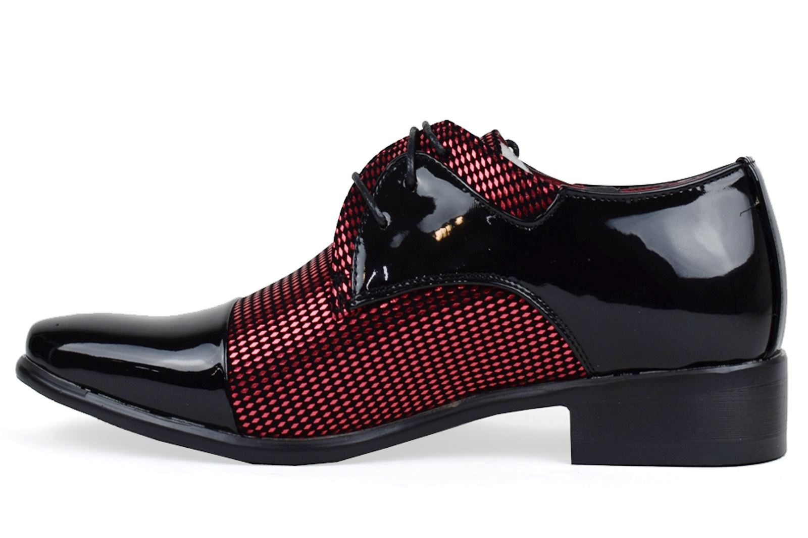 Mens-UK-Style-Leather-Lining-Formal-Office-Wedding-Smart-Work-Brogue-Shoes thumbnail 78