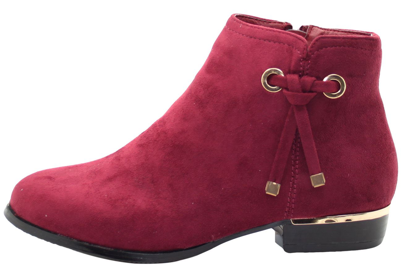 New-Women-Chelsea-Ankle-Boots-Winter-Block-Heel-Ladies-Biker-Style-Boots thumbnail 44