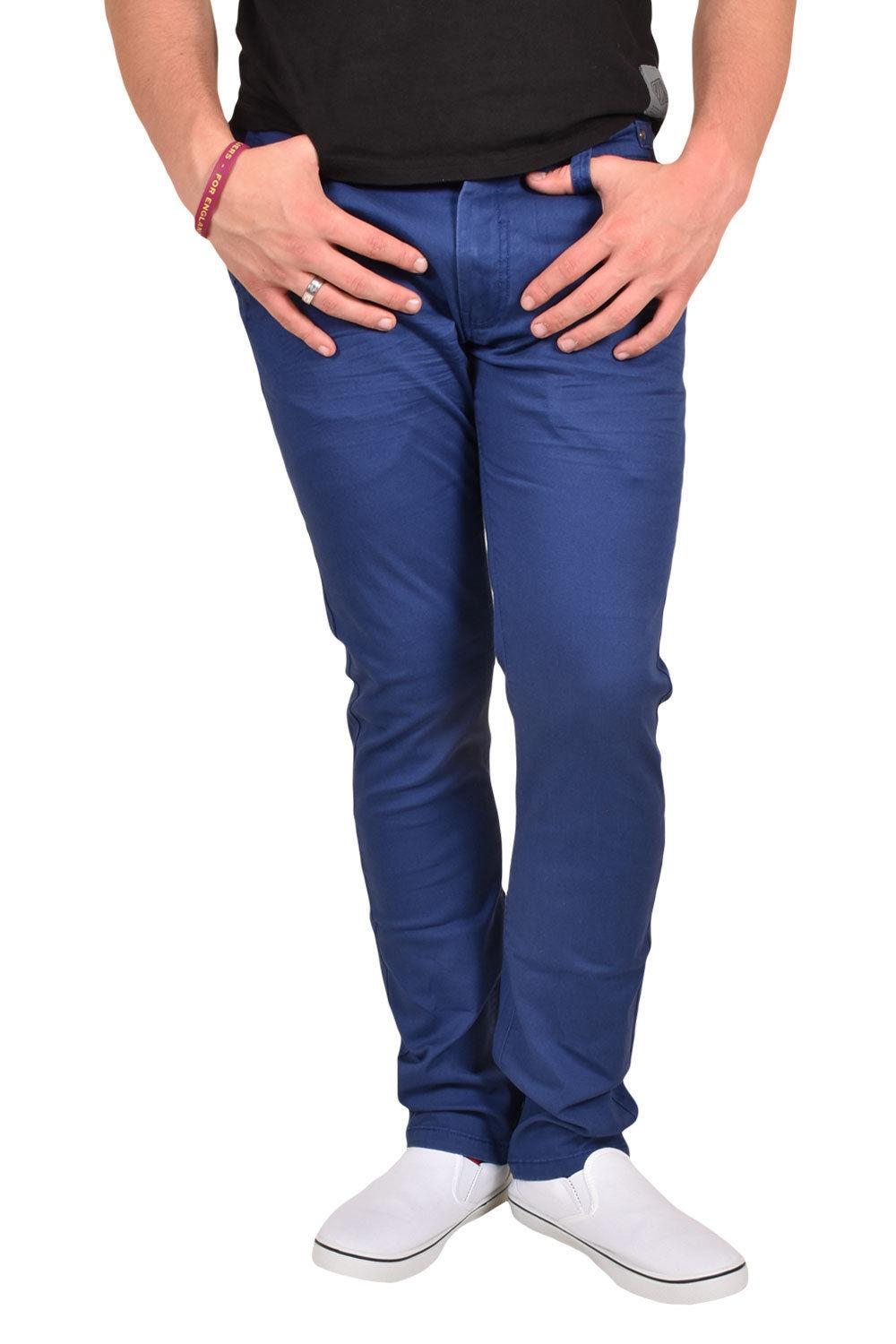 New-Mens-Designer-Jacksouth-Chino-Regular-Fit-Stretch-Cotton-Rich-Twill-Trousers thumbnail 3