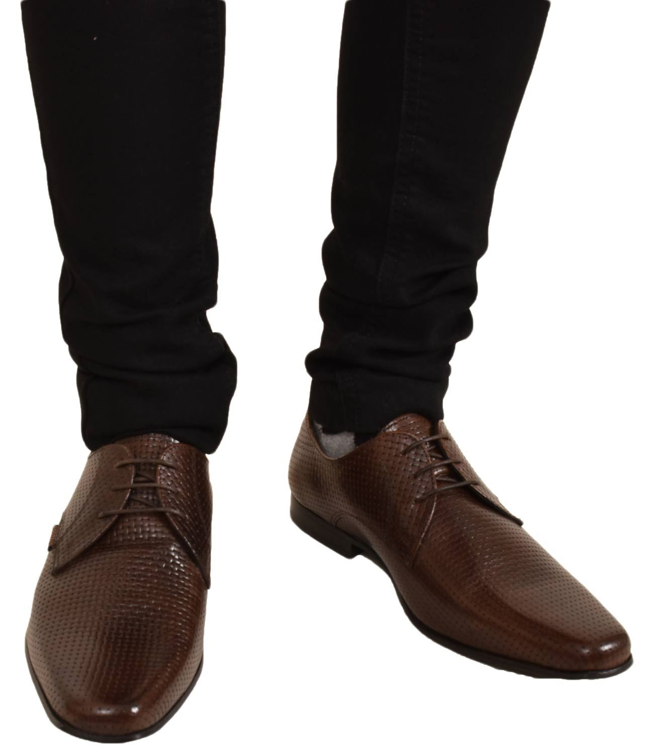 Mens-UK-Style-Leather-Lining-Formal-Office-Wedding-Smart-Work-Brogue-Shoes thumbnail 63