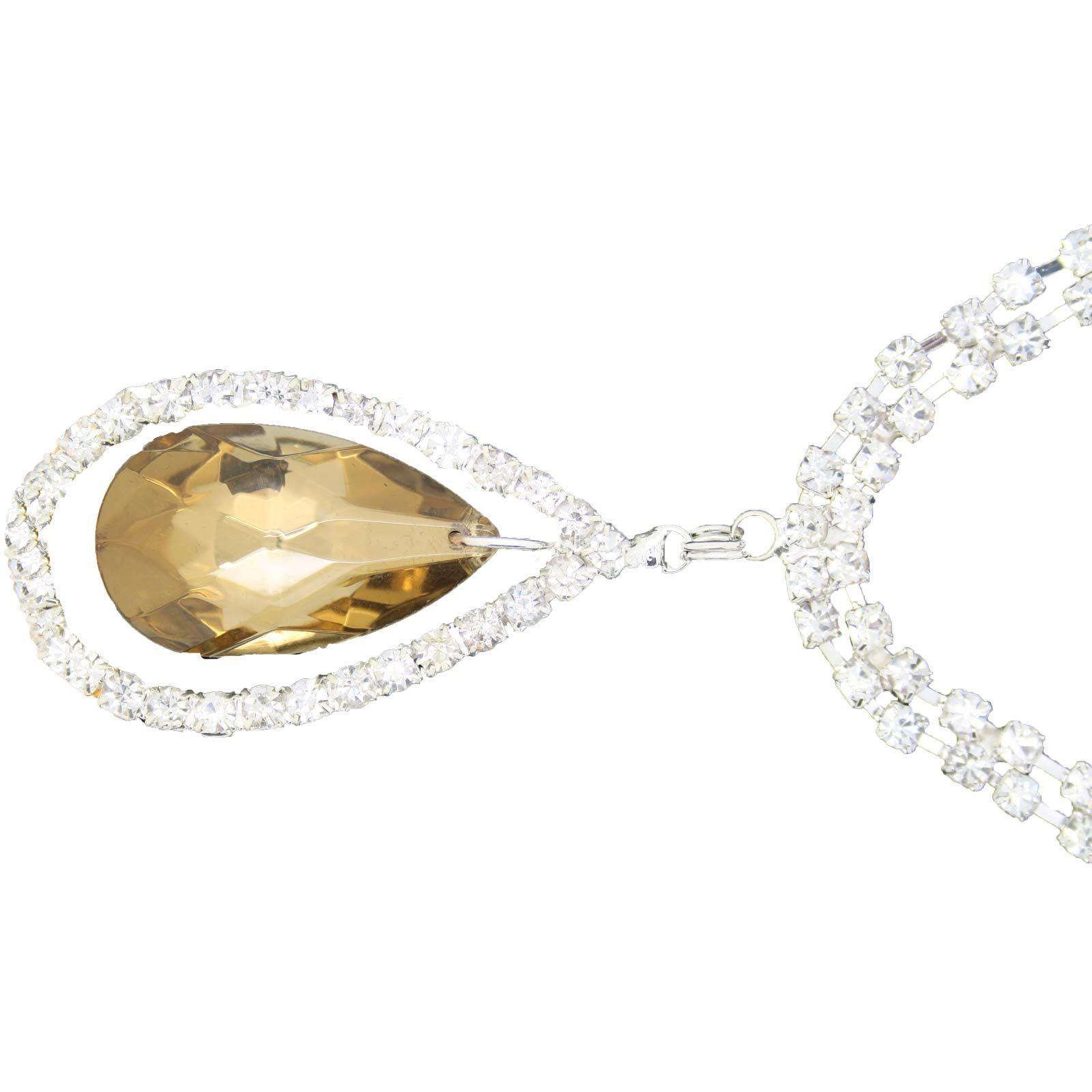 True-Face-Ladies-Women-039-s-Elegant-Earrings-Necklace-Set-Metal-Alloy-Jewellery thumbnail 42