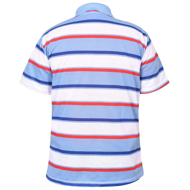 Mens-T-Shirts-Yarn-Dyed-Strip-Pocket-Polo-Shirt-Top-Multi-Colour-Size-M-3XL thumbnail 34