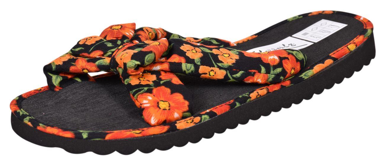 Ladies-Mule-Hawaiian-Floral-Womens-Beach-Slipper-Slip-on-Shoes thumbnail 28