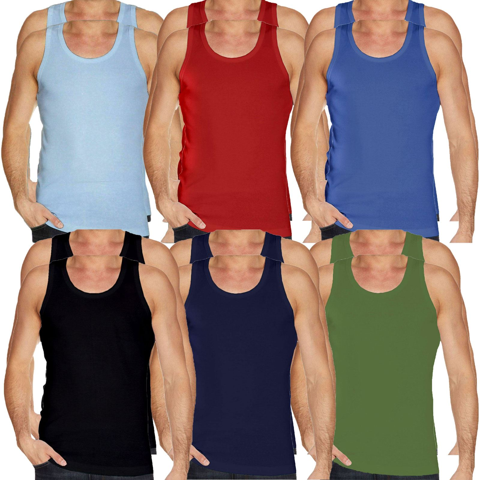 Mens Vest Plain Tank Top Sports T Shirt Sports Fitness Gym Summer Men/'s Clothing