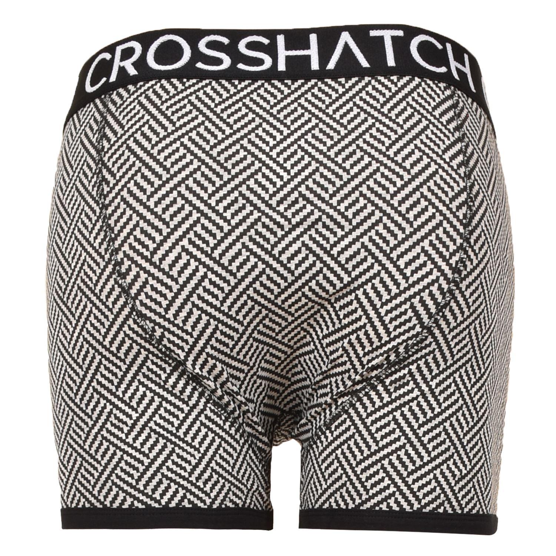 thumbnail 40 - Mens Crosshatch Boxers 3 Pack Shorts Underwear Underpants Trunks Multipack Sets
