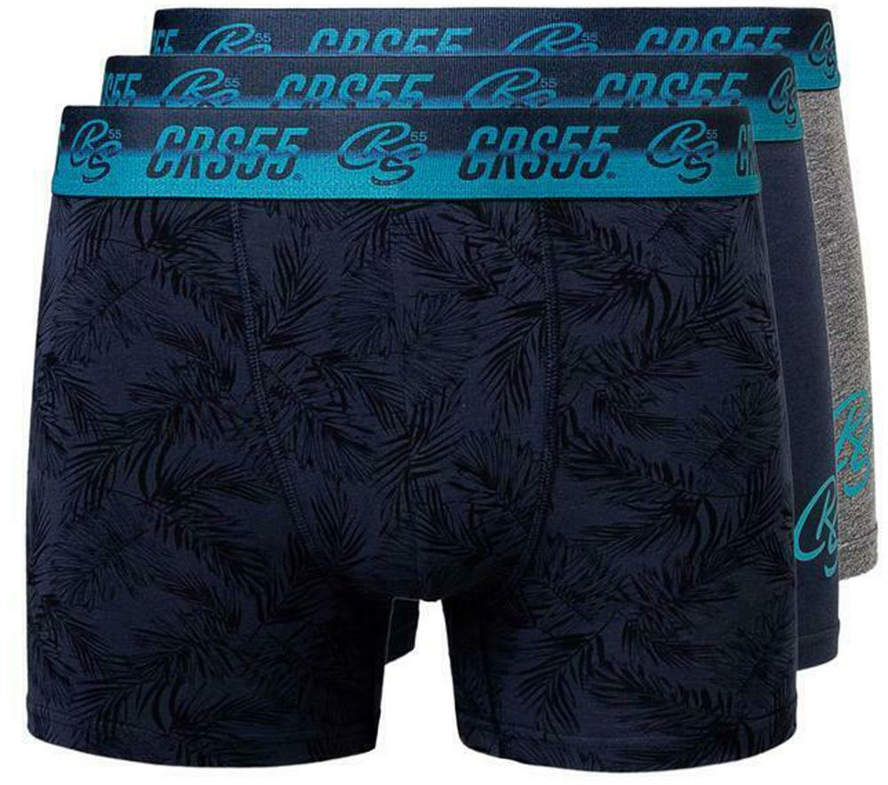 thumbnail 51 - Mens Crosshatch Boxers 3 Pack Shorts Underwear Underpants Trunks Multipack Sets